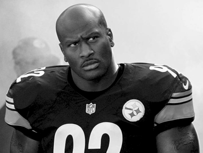 James Harrison Was Made The Face Of Evil